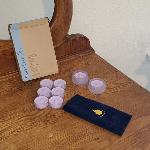 Tealight Candle Holders & Sugar Macaroon Candles